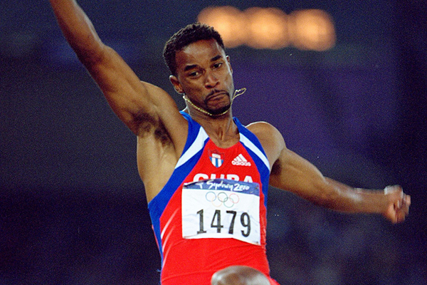 Ivan Pedroso in action at the 2000 Olympic Games in Sydney (Getty Images)