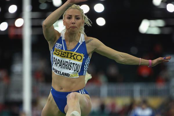 Greek triple jumper Paraskevi Papachristou (Getty Images)