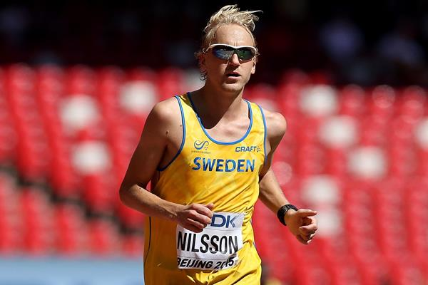Swedish distance runner David Nilsson (Getty Images)
