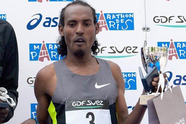 Ethiopian marathon runner SIsay Jisa (Getty Images)