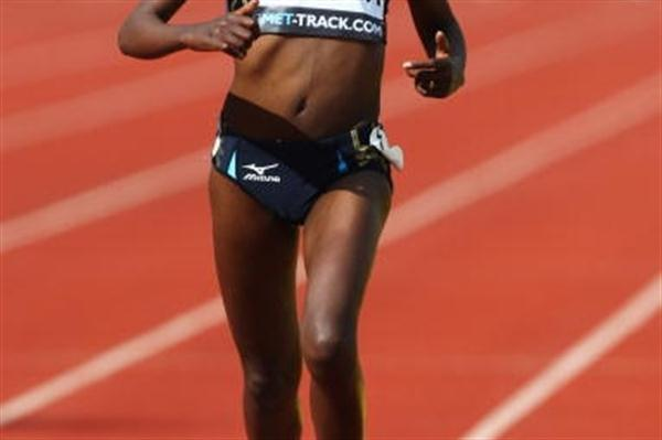 Tirunesh Dibaba back to fitness brings home the 5000m victory (Getty Images)