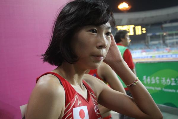 Nana Fujimori at the 2013 Asian Youth Games (David Tarbotton)