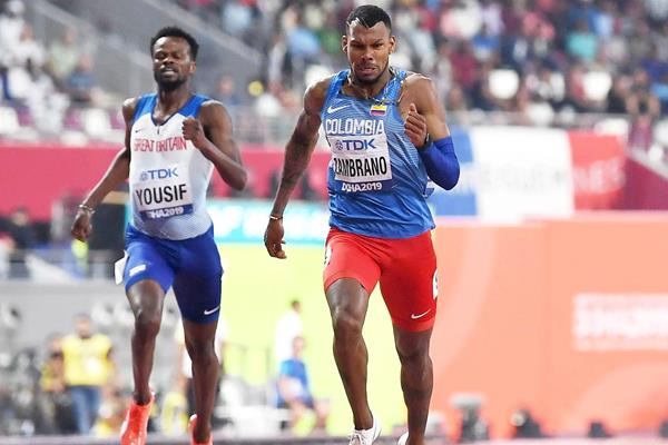 Anthony Zambrano at the World Athletics Championships Doha 2019 (Getty Images)