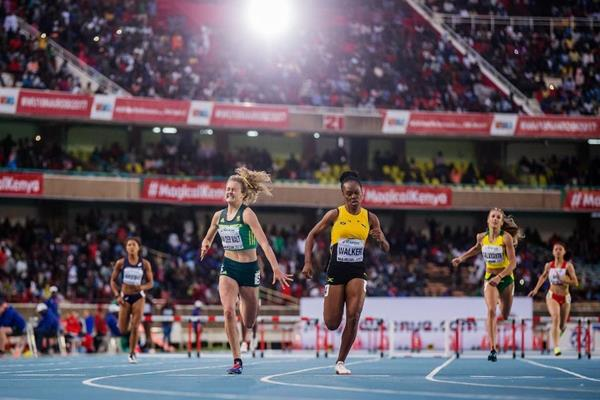 South Africa's Zeney van der Walt takes victory at the IAAF World U18 Championships Nairobi 2017 (Getty Images)