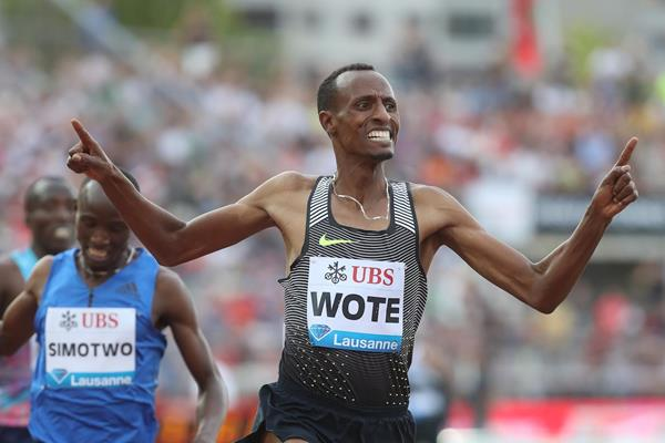 Aman Wote, the Lausanne 1500m winner (Giancarlo Colombo)