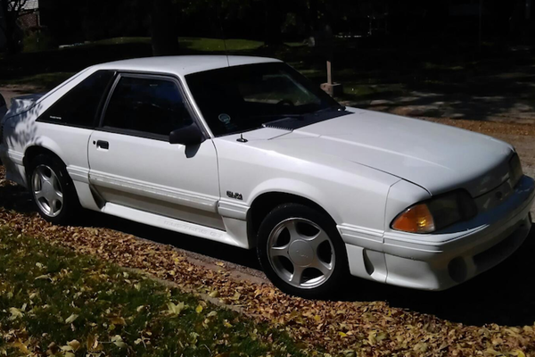 Evan Jager's Mustang ()