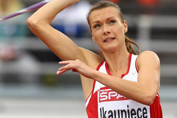 Latvian heptathlete Laura Ikauniece (Getty Images)