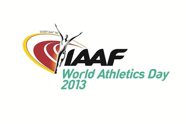 2013 World Athletics Day logo ()