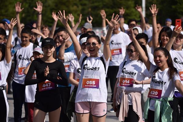 Run 24-1 in Nur Sultan, Kazakhstan (Organisers)