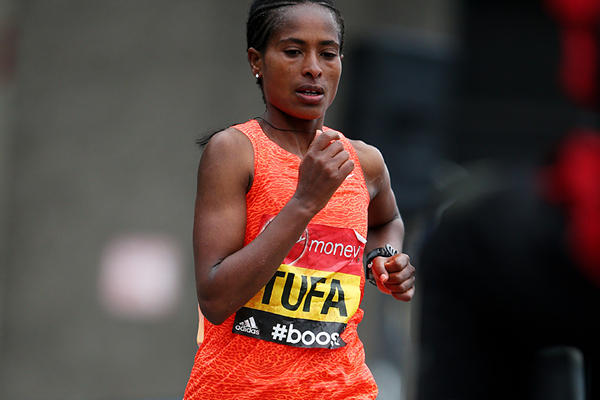 Ethiopian distance runner Tigist Tufa (Getty Images)