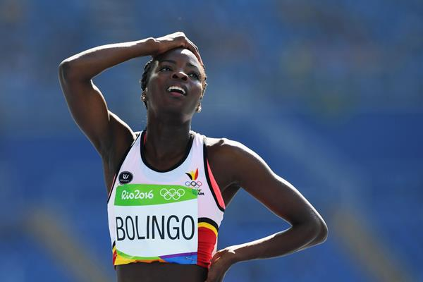 Cynthia Bolingo at the 2016 Olympic Games (Getty Images)