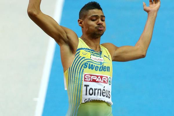 Swedish long jumper Michel Torneus (Getty Images)