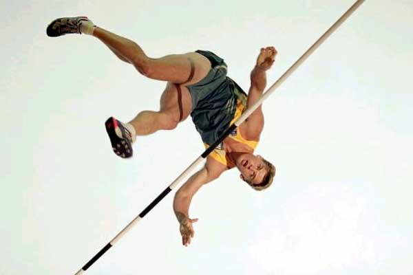 Jean Galfione (FRA) - 1996 Olympic Pole Vault champion (Getty Images)