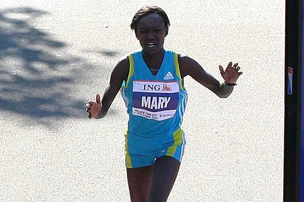 Mary Keitany in action at the New York City Marathon (Getty Images)