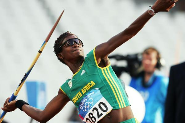 South African heptathlete Janice Josephs (Getty Images)