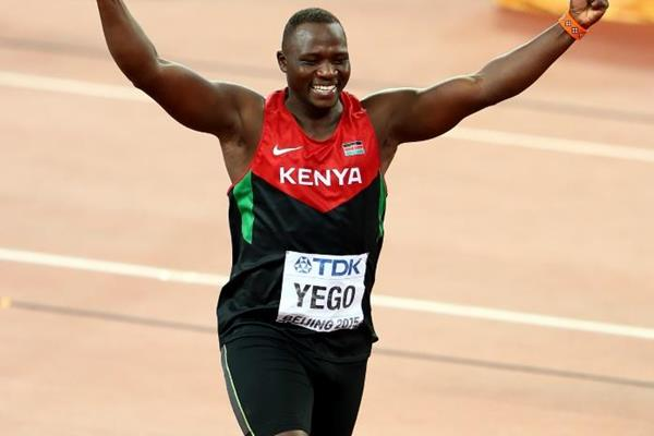 Javelin winner Julius Yego at the IAAF World Championships, Beijing 2015 (Getty Images)