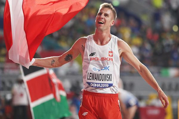 Marcin Lewandowski at the IAAF World Athletics Championships Doha 2019 (Getty Images)