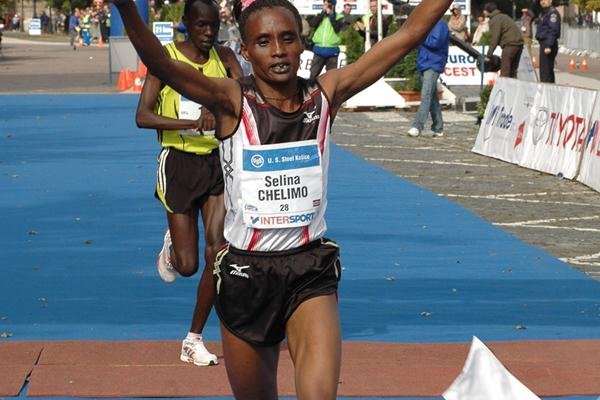 Selina Chelimo takes a three-minute win in Kosice (MMM Kosice)
