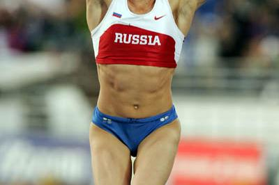 Russia's Yelena Isinbayeva - Pole Vault World champion (Getty Images)