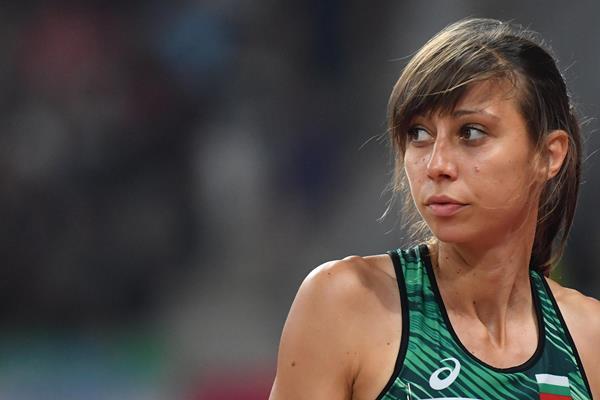 Bulgarian high jumper Mirela Demireva (AFP/Getty Images)