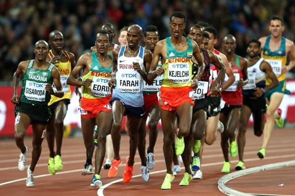 First heat of the men's 5000m at the IAAF World Championships London 2017 (Getty Images)