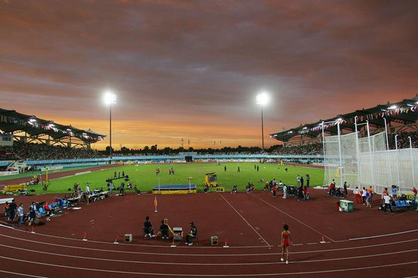 General view of the Chaoyang Sports Centre, venue for the 2006 IAAF World Junior Championships in Beijing (Getty Images)