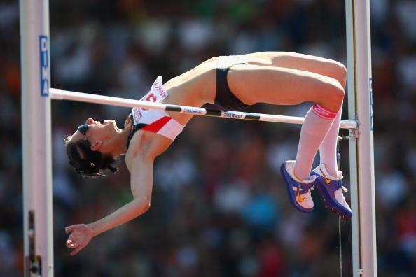 Ariane Friedrich (GER) 2.03m victory in Annecy at European Cup (Getty Images)