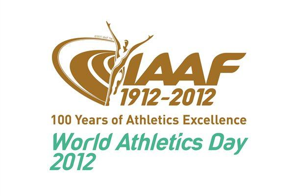 2012 World Athletics Day Logo  (IAAF)