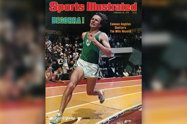 Eamonn Coghlan on the cover of Sports Illustrated (SI)