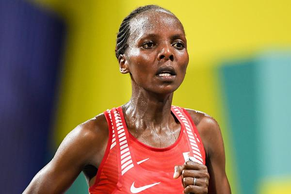 Rose Chelimo at the IAAF World Athletics Championships Doha 2019 (Getty Images)