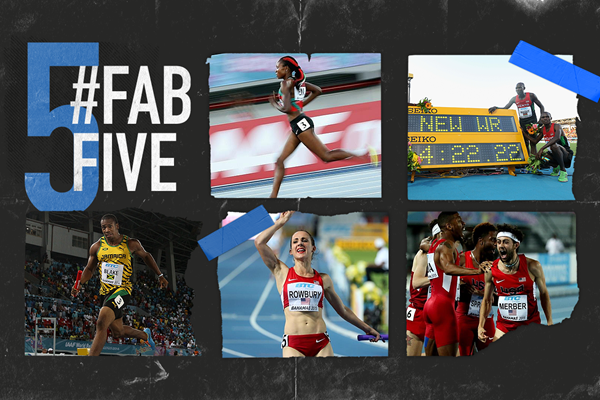 Fab five: World Relays record breakers (Getty Images)