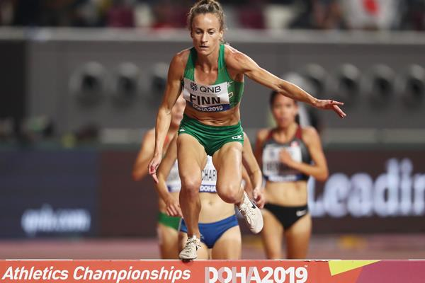 Irish steeplechaser Michelle Finn (Getty Images)