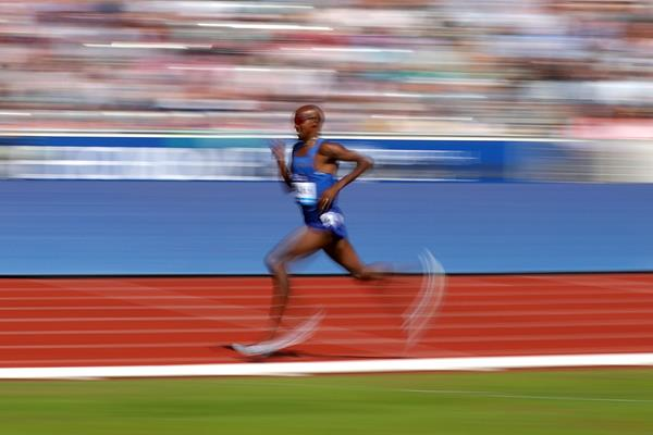 Mo Farah in action (AFP / Getty Images)
