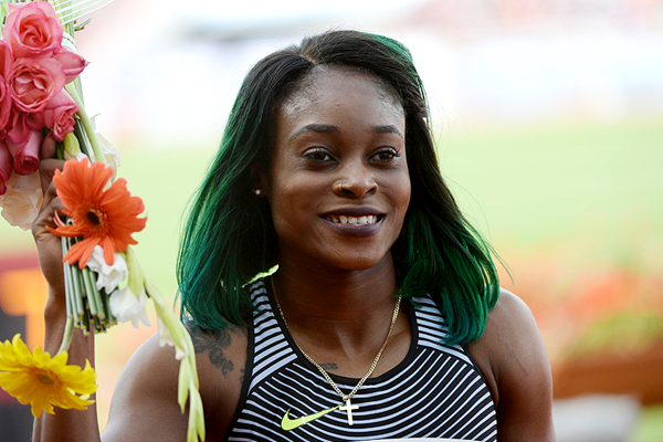 Jamaican sprinter Elaine Thompson (AFP / Getty Images)
