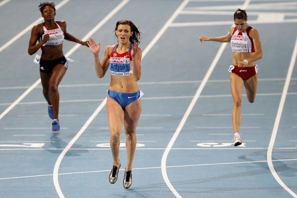 Natalya Antyukh - 52.92 to take the European title (Getty Images)