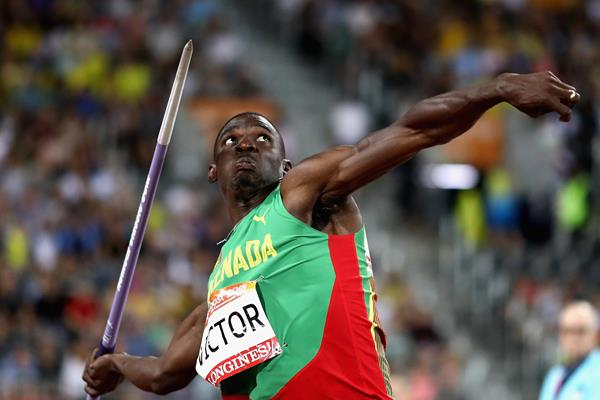 Commonwealth decathlon champion Lindon Victor (Getty Images)