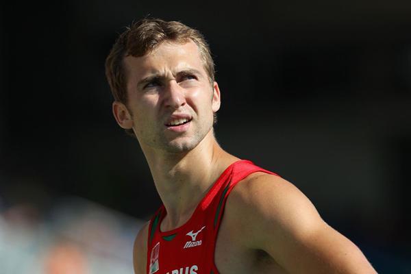 Andrei Krauchanka of Belarus in the Decathlon (Getty Images)