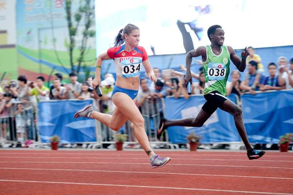 Track and field at Youth Olympics ends with mixed relays and Kids