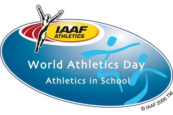 2009 IAAF World Athletics Day logo - Schools (IAAF.org)