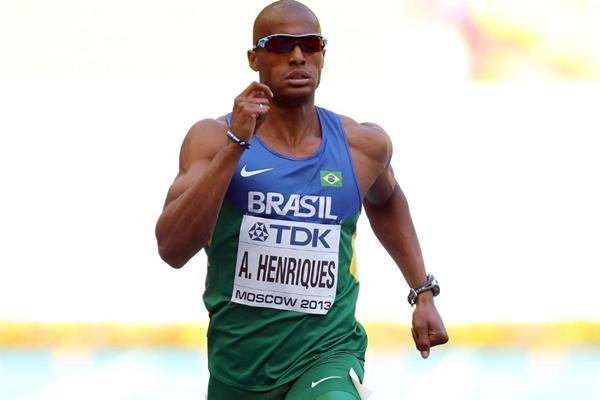 Anderson Henriques in the mens 400m at the IAAF World Athletics Championships Moscow 2013 (Getty Images)