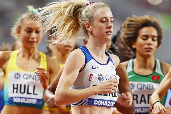 British middle-distance runner Jemma Reekie (Getty Images)