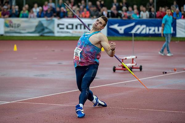 Johannes Vetter in the javelin in Lucerne (Organisers)