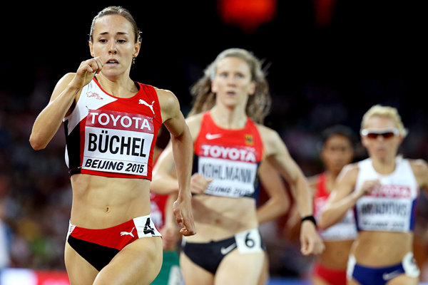 Selina Buchel in the 800m at the IAAF World Championships Beijing 2015 (Getty Images)