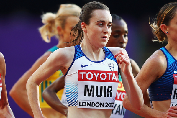 Laura Muir in action at the IAAF World Championships (Getty Images)