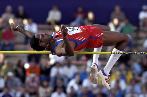 High Jump Final - Javier Sotomayor (© Allsport)
