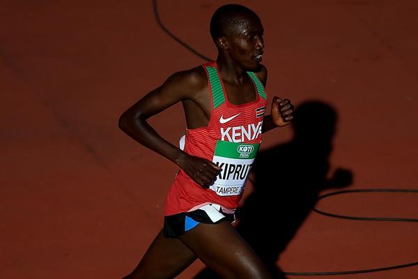 Rhonex Kipruto wins the men's 10,000m at the IAAF World U20 Championships Tampere 2018 (Getty Images)