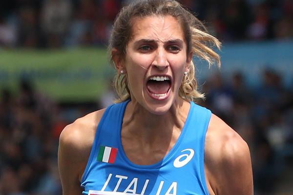 Italian high jumper Alessia Trost (Getty Images)