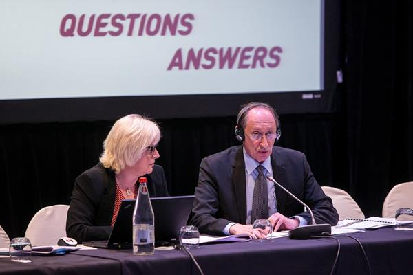 The 2014 IAAF Council Meeting in Monaco, day two (Philippe Fitte / IAAF)