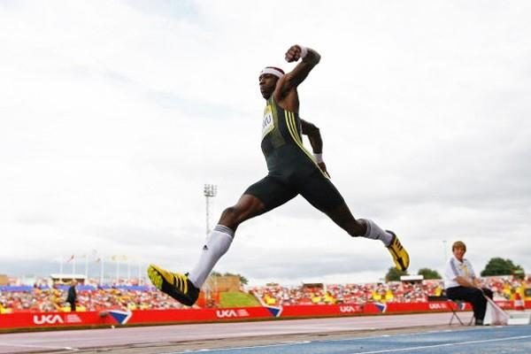 World champion Phillips Idowu competing in Gateshead (Getty Images)