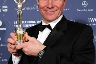 Sergey Bubka with Laureus Lifetime Achievement Award (Getty Images)